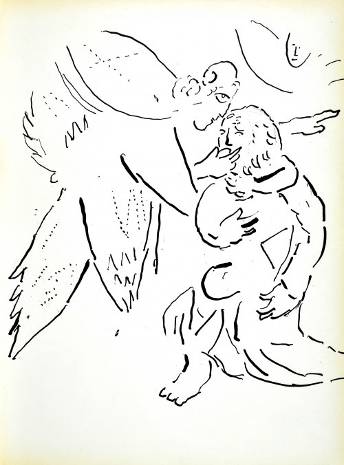 Marc CHAGALL (1887 - 1985), Bible 1956