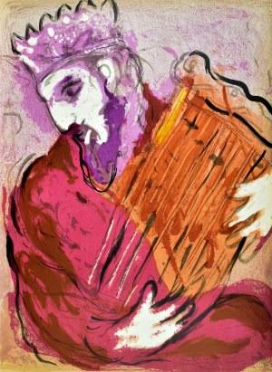 Marc CHAGALL (1887 - 1985), Davidand His Harp