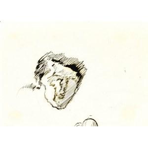 Leopold GOTTLIEB (1883-1934), Szkic głowy