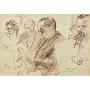 Kasper POCHWALSKI (1899-1971), W poczekalni
