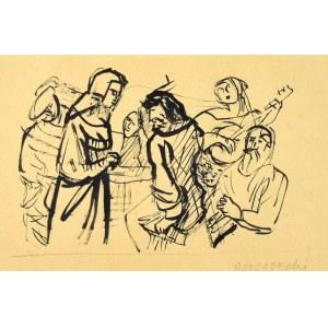 Kazimierz PODSADECKI (1904-1970), Scena rodzajowa