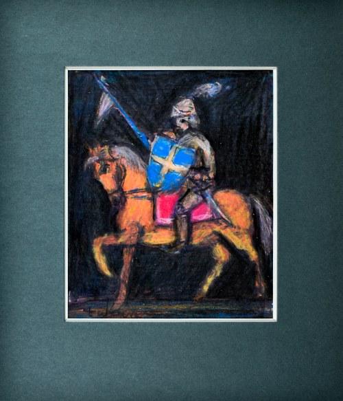 Eugeniusz TUKAN - WOLSKI (1928-2014), Rycerz na koniu I