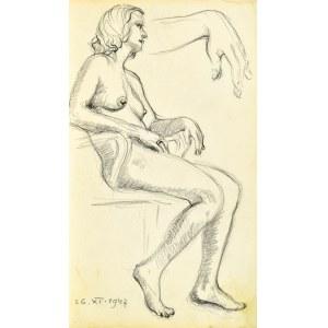 Henryk UZIEMBŁO(1879-1949), Akt kobiety, 1947