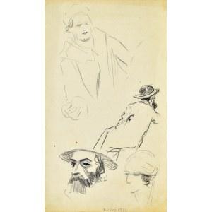 Henryk UZIEMBŁO(1879-1949), Szkice postaci, 1932