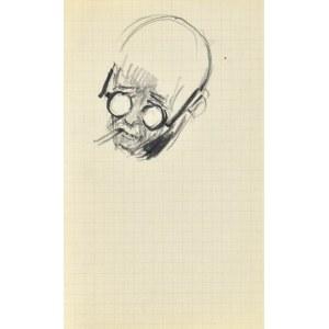 Henryk UZIEMBŁO(1879-1949), Szkic głowy