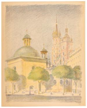 Jan Wojnarski (1879-1937), Kościół Św. Wojciecha