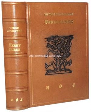 GOMBROWICZ - FERDYDURKE wyd.1 z 1938r. il. BRUNO SCHULZ