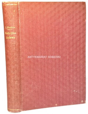 WACHHOLZ- MEDYCYNA SĄDOWA wyd. 1925