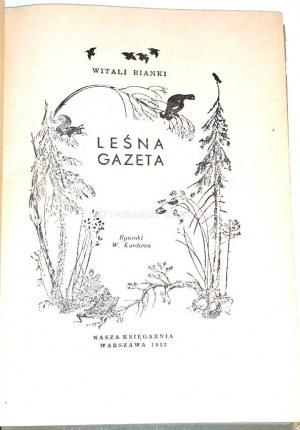 BIANKI- LEŚNA GAZETA wyd. 1953