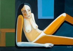 Iwona Birenbaum (Sacharz), Ona, niebieska