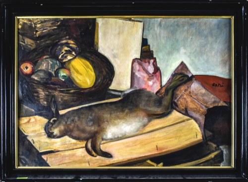 ANERI Irena Weissowa (1888-1981), Martwa natura z zającem