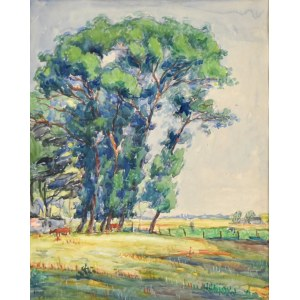 Jean PESKÉ (1870-1949), Drzewa
