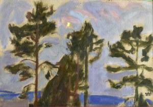Wojciech WEISS (1875-1950), Sosny, 1909