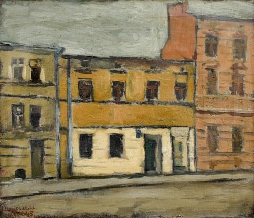 Jerzy NOWOSIELSKI (1923-2011), Ulica Karmelicka w Krakowie, 1945