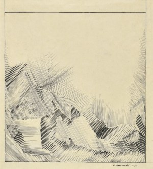 Ryszard WINIARSKI (1936 - 2006), Kompozycja, 1980