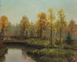 Wiktor KORECKI (1890-1980), Pejzaż jesienny