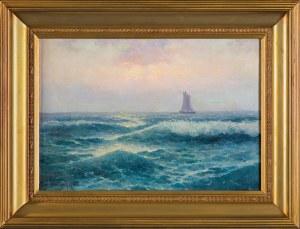 Wiktor KORECKI (1890-1980), Na morzu, przed 1938
