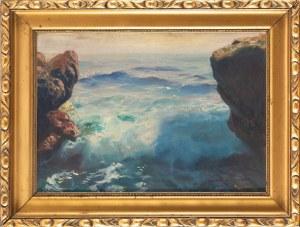 Feliks Kazimierz WYGRZYWALSKI (1903-1966), Fale na Capri