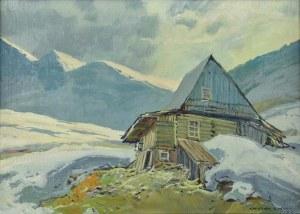 Leszek STAŃKO (1924-2010), Pejzaż górski zimą, 1976