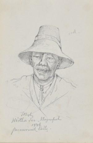Tadeusz RYBKOWSKI (1848-1926), Przewoźnik łódką, 1886