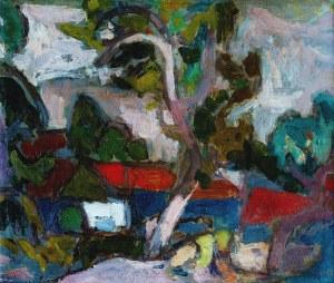 Kazimierz PODSADECKI (1904-1970), Dom z czerwonym dachem