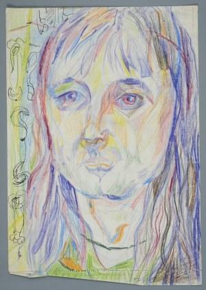 Janina MUSZANKA - ŁAKOMSKA (1920-1982), Portret kobiety - Autoportret (?), ok. 1970
