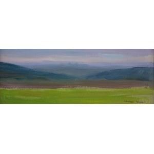 Leszek STAŃKO (1924-2011), Studium pejzażu górskiego, 1957