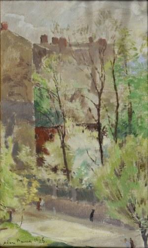 Adam BUNSCH (1896 - 1969), Pejzaż, 1926