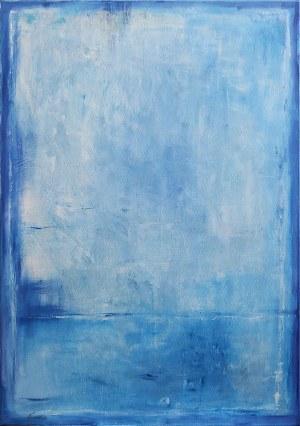 Edward Karczmarski, Blue V, 2020