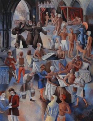 Juliusz Lewandowski, The bat house II, 2021
