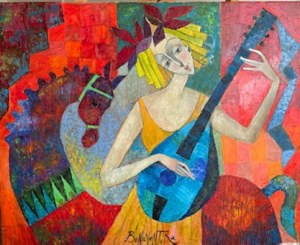 Jan Bonawentura Ostrowski, Grająca dziewczyna