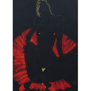 Joanna Sarapata, Czerwona ballerina, 2021
