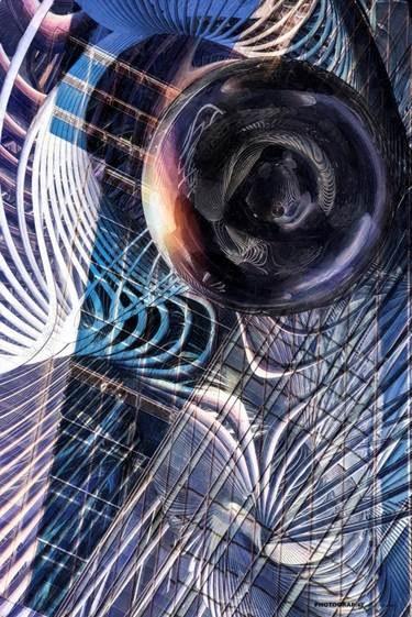 Andrzej Andrychowski, Silver sphere, 2020