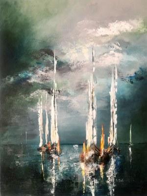Joanna Buniek, Bursztynowe łodzie, 2021