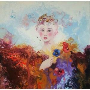 Patrycja Kruszyńska-Mikulska, Celestial blue, 2021