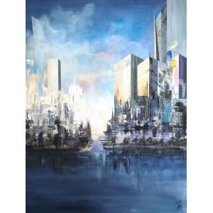 Artur Borkowski, City, 2021
