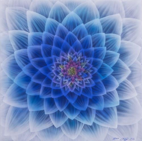 Hanna Rozpara, Kwiat zimy, 2021
