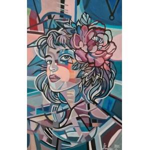 Paweł Porada, Kobieta z kwiatem, 2021
