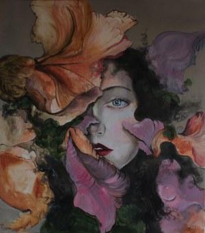 Honorata Chajec, Kobieta z kwiatem, 2019