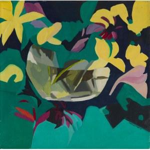 Danuta WESTRYCH (1955-2014), Kwiaty w wazonie, 1986