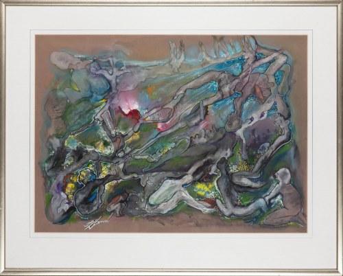 Tadeusz ZLAMAL (1932-2018), Kompozycja surrealistyczna
