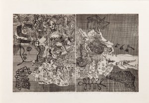 Ewa WIECZOREK (1947-2011), Wariacja na temat opowiadania Ericha Frieda