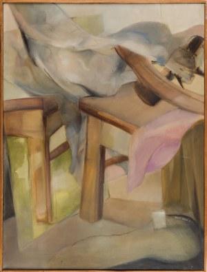 Danuta WESTRYCH (1955-2014), W pracowni, 1982