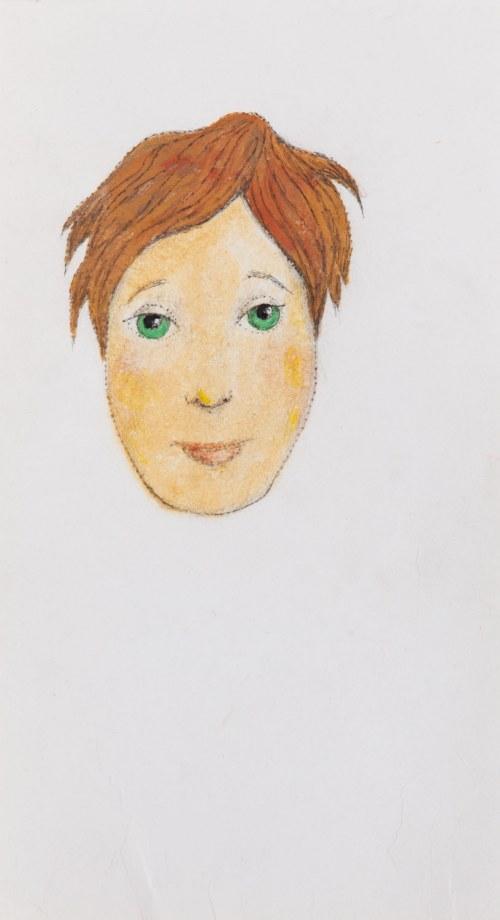 Kazimierz MIKULSKI (1918-1998), Projekt maski kobiecej