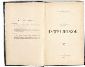 1898 - Daszyńska-Golińska, ZARYS EKONOMII społecznej