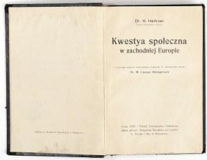 1905 - Herkner, KWESTYA SPOŁECZNA w zachodniej Europie