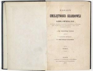 1865 - Rau, ZASADY UMIEJĘTNOŚCI SKARBOWEJ Karola Henryka Rau