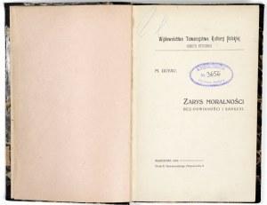 1910 - Guyau, ZARYS MORALNOŚCI bez powinności i sankcji