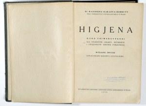 1934 - Karaffa-Korbutt, HIGJENA; kurs uniwersytecki dla studentów, lekarzy…