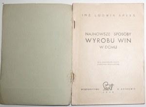 1948 - Spiss, NAJNOWSZE SPOSOBY WYROBU WIN w domu